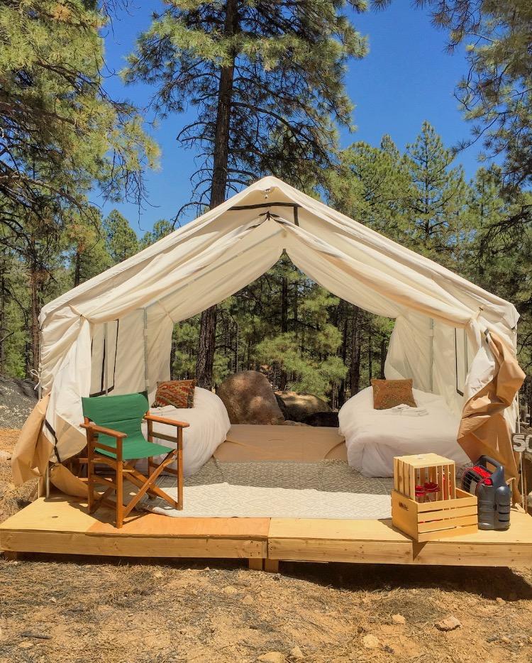 Safari Glamping Tent Stout Tent